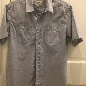 Ecko grey button down size L